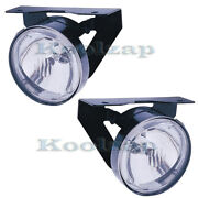 92-98 Grand Am Front Halogen Driving Fog Light Lamp Left And Right Side Set Pair