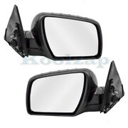 For 10-11 Soul 1.6l/2.0l Rear View Mirror Power Non-heated Manual-fold Set Pair