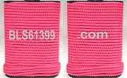 Set Of 2 Pink Braided 1/8 In X 45and039 Ft Boat Marine Utility Line Tie-down Rope