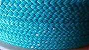 1.25 X 100 Ft. Hollow/flat Braid Polyester Rope.100 Ft.high Quality.made In Usa
