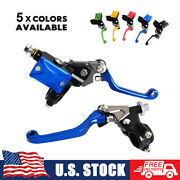 7/8 Hydraulic Brake And Cable Clutch Levers For Yamaha Dirt Bikes Mx Motocross