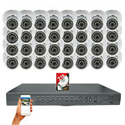 32 Pcs 1080p Hd Outdoor Cctv Security Camera 32 Ch Surveillance System With 2tb