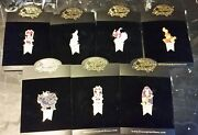 Disney Auctions Medieval Series Le 100 Pin Complete Set 7 Pins
