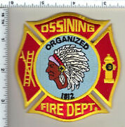 Ossining Fire Dept. New York - New From The 1980's