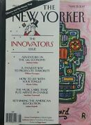 The New Yorker May 15 2017 Innovators Issue Obama Money Trap Free Shipping Sb