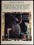 20,000 Leagues Under The Sea By Jules Verne Illustrated By Leo And Diane Dillon
