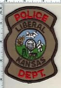 Liberal Police Kansas Shoulder Patch - New From 1992