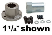 Belt Drives Ltd 1 1/4 Front Pulley Offset And Nut In-1250