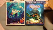 Finding Nemo And Finding Dory Dvd And Bluray