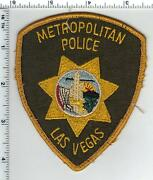 Las Vegas Police Nevada Uniform Take-off Shoulder Patch From The Early 1980and039s