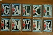 2012-13 Sp Game Used Draft Day Marks Alex Galchenyuk Auto Patch Complete Name Rc