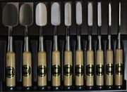 Japanese Chisel Set Of 10 For Woodworking Made By Ouchi New