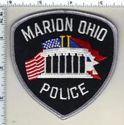 Marion Police Ohio Shoulder Patch From 1997