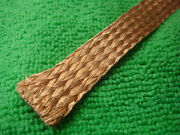 10m X 15mm 0.6 Copper Braided Cable Wire Cover Sleeve