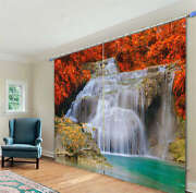 A Fountain Of Cold Water 3d Curtain Blockout Photo Print Curtains Fabric Window