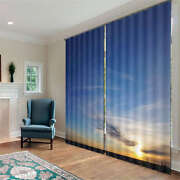 Remote And Beautiful Sky 3d Curtain Blockout Photo Print Curtains Fabric Window
