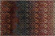 Adrienne By Oriental Weavers. Tribal Contemporary Area Rug. Red/mulitcolor 3809g