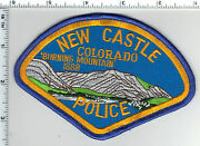 New Castle Police Colorado 2nd Issue Shoulder Patch