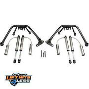 Fabtech 4 Multiple Front Shock Sys. W/ Dl 2.0 Resi For 2011-2019 Gm 2500/3500hd