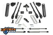 Fabtech K2216 4 4 Link Systems W/performance Shocks For 2017 Ford F250/f350 4wd