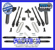 Fabtech K2219m 6 4 Link System W/stealth Shocks For 2017 Ford F250/f350 4wd