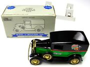 Rare Vintage New - Ford A Delivery Van 1/25 Die Cast Metal Coin Piggy Bank + Key