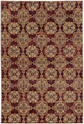 Andorra By Oriental Weavers. Traditional Oriental Area Rug. Red/gold 6883a