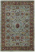 Andorra By Oriental Weavers. Traditional Oriental Area Rug. Red/blue 7155a