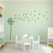 Dandelion Vinyl Wall Decal With 41 Diy Floating Seeds For Playroom + More K577