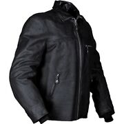Furygan New Texas Black Motorcycle Waxy Leather Cruiser/retro/triumph Jacket