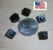 Mini Push Button 8.3mm On Off Switches Square 50 Lot Weatherproof 30v Ship Usa
