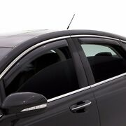 In Channel Rain Guards - Avs Smoked Window Visors For Nissan Altima 4dr 13-18