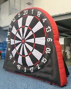Giant Inflatable Dart Soccer 4m X 4.6m