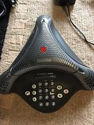 Polycom Voicestation 300 Conference Phone 2201-17910-001 Including Power Supply