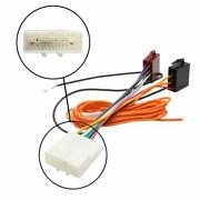 Car Stereo Radio Iso Wiring Harness Connector Adaptor Cable For Nissan