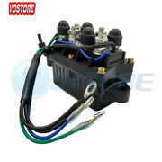 Trim Relay Fit Yamaha 30-90 Hp 6h1-81950-00-00 92-06 And Later 30-60hp Outboard