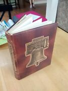 9 Cool Old Leather Bound Books - Cars, American Art, History, Scenery, Explorers