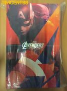 Ready Hot Toys Mms281 Avengers 2 Age Of Ultron Captain America Aou Chris Evans