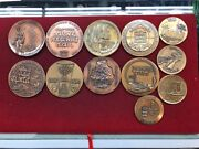 State Of Israel Bronze Medals And Coins