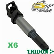 Tridon Ignition Coil X6 For Bmw 135i E88 Turbo 01/08-06/10, 6, 3.0l N54b30
