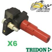 Tridon Ignition Coil X6 For Subaru Outback 10/03-08/09 6 3.0l