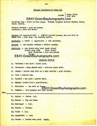 1930's Nfl Scouting Report - Green Bay Packers And Chi Cardinals - Curly Lambeau