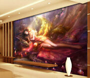 Oil Painting Beauty 3d Full Wall Mural Photo Wallpaper Printing Home Kids Decor