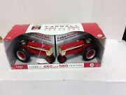 New Ertl Ih Mccormick Farmall 460 And 560 1/16 Scale Toy Tractors 4 And 5 Plow