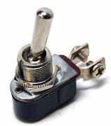 100x Spst On / Off Compact Toggle Switch + Screw Terminals 12v - 15a / 6v - 25a