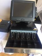 Pos - Radiant Systems - 4 Stations With Cash Box Printers And Kitchen Printer