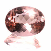 8.30 Ctw Clean Gem Collection Of Peach Color Natural Morganite