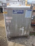 450 Gallon Stainless Steel Transtore Tote Center Bottom Outlet
