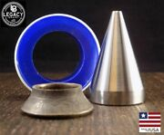 17 Degree Folding Cone Coin Ring Tools 1/4 To 3/4 Hole Sizes Free Ship