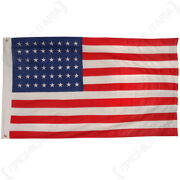 Vintage Style Us Flag 48 Stars - Ww2 American Repro Classic 100 Cotton Army New